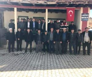 Kaymakam Musa Kazım Çelik'in köy ziyaretleri
