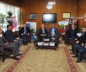 Başkan Gürkan'dan Ali Evren'e hayırlı olsun ziyaretti