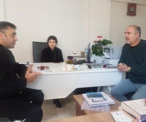 Bartın İl Emniyet Müdürü Ogün Vural, Tekin'i ziyaret etti