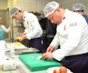 Çinli aşçılar Maltepe'de hünerlerini sergiledi
