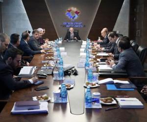 """""""TR61 Yeşil Endüstri Bölgesi"""" değerlendirme toplantısı Bakan Özlü'nün katılımıyla yapıldı"""