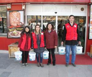 Erzincan'da yaban hayatı için doğaya yiyecek bırakıldı