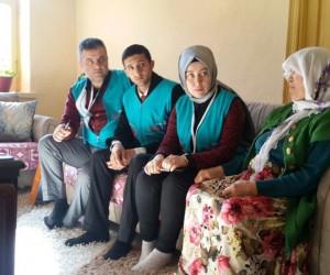 Mobil İpek Masa ekibi ziyaretlerini sürdürüyor