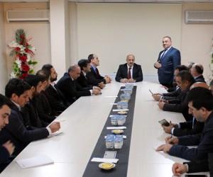 TEİAŞ Genel Müdürü Abdullah Atalay'dan Dicle Elektrik'e ziyaret