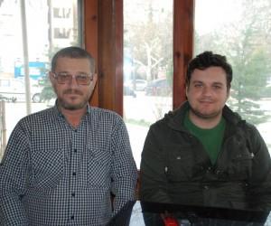 Baba ile oğlu Afrin'e gitmek istiyor