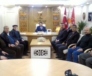 Pazaryerililer Dernek Başkanı Torun'dan AK Parti Yıldırım İlçe Başkanı Yılmaz'a ziyaret