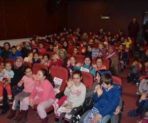 Bilecik'te 3 bin çocuk 15 tatil boyunca çocuk sinemasına doydu