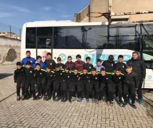Manisa BBSK U-13 takımda turnuva heyecanı