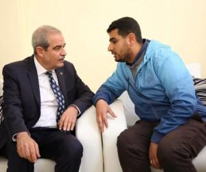 Belediye Başkanı Fevzi Demirkol, vatandaşları dinledi
