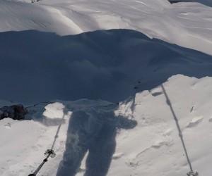 Uludağ'da dağcıların ölümden döndüğü o anlar...