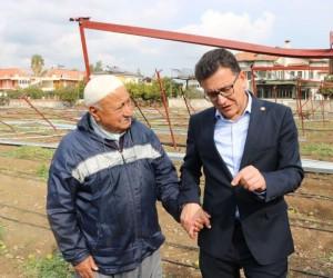 """AK Partili Uslu: """"Çiftçimiz tesislerini ve ürünlerini mutlaka TARSİM yaptırmalı"""""""