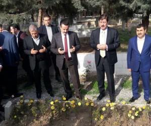 AK Parti Şanlıurfa Milletvekili Faruk Çelik Birecik'te