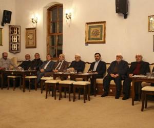Afrin şehitleri Şeyh Ethem Sırrı Efendi Kültür Evi'nde anıldı