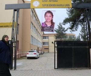 Şehit Fatma Avlar'ın fotoğrafı okuluna asıldı