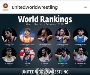 Kayseri Şekersporlu güreşçi  Ekrem Öztürk dünya birincisi
