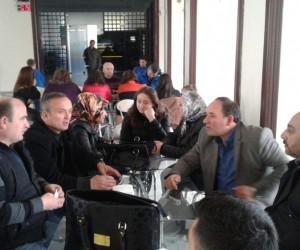 Kayseri'deki Karadenizlilerden 'hamsi tava' buluşması