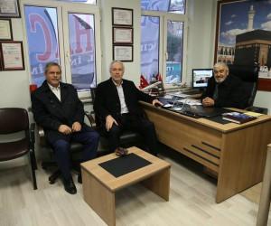 Başkan Kamil Saraçoğlu'ndan esnaf ziyareti
