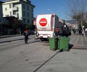 Körfez'de 14 bin çöp konteyneri temizlendi