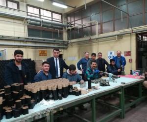 Türk Metal-Sen'den MKE işçisine destek