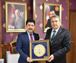 Başkan Çerçi, Coşkun'la vedalaştı