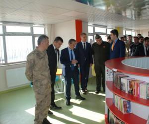 Şehit Polis Selvet Şimşek'in adı kütüphanede yaşayacak