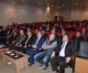 Muş'ta 'Buzağı Ölümleri ve Korunma Yolları' semineri