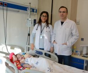 Kalbi duran Zeynep bebek sağlığına kavuştu