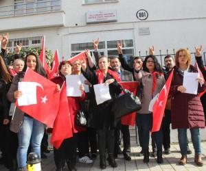 MHP'li kadınlardan Afrin için askerlik dilekçesi