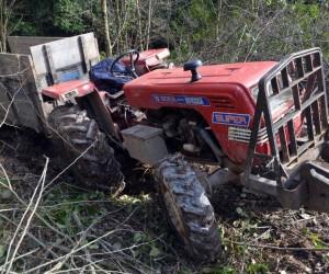 Odun toplamak için gitti, dönüş yolunda traktörün altında kalarak hayatını kaybetti