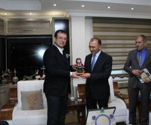 İmamoğlu'ndan Başkan Köksoy'a ziyaret