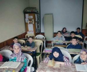 14 yaş altı öğrencilere Kur'an-ı Kerim'i Öğrenme Kursu