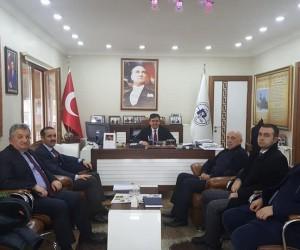 İl Genel Sekreter Yardımcısı Çelebi'den Pazaryeri Belediyesine ziyaret