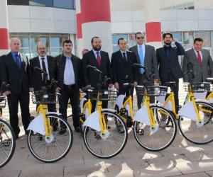 4. Nesil Paylaşımlı Bisiklet Platformu Türkiye'de ilk kez KMÜ'de