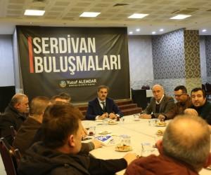 Başkan Alemdar ASEM yönetimini ağırladı