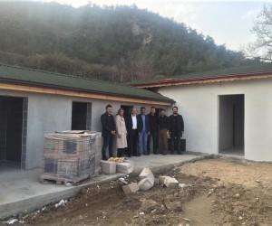 Osmaneli Belediyesi Hayvan Barınağı inşaatı tamamlanıyor
