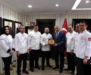 Başkan Günaydın Aşçıları ağırladı