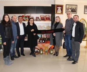 Kosovalı heyet Çallılardan tarım ve bağ üretimi desteği istedi