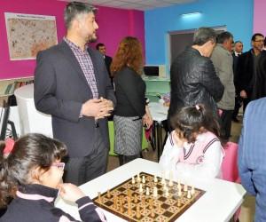 Şehit Polis Ömer Akcan Zenginleştirilmiş Kütüphanesi açıldı
