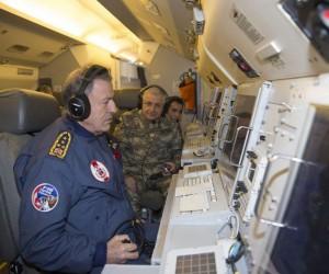 Genelkurmay Başkanı Akar ve kuvvet komutanları kritik bölgelerde inceleme yaptı