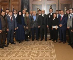 AK Parti Osmangazi'den Salman ve Aktaş'a ziyaret