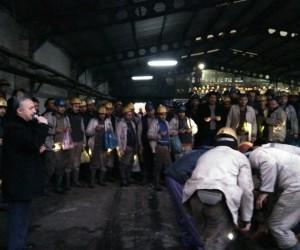 Madenciler, Üzülmez'de kurban kesti