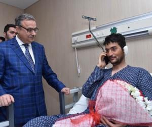 Bakan Elvan, Afrin gazisi ile telefonda görüştü