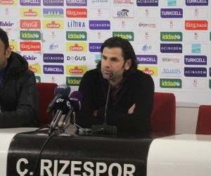 Çaykur Rizespor - Altınordu maçı ardından