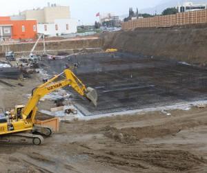 Manisa Prime projesinde ilk beton döküldü