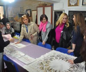 İTSO KGK'dan Orhangazi Gönüllü Evi'ne ziyaret