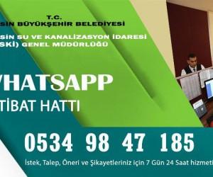 MESKİ, WhatsApp iletişim hattı kurdu