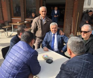 Başkan Baran'dan Mimar Sinan Mahallesi'ne ziyaret