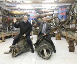Spor yorumcusu Haldun Domaç'tan Türkiye Deniz Canlıları Balıkçı Kenan Müzesi'ne övgü