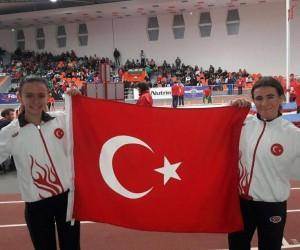 Kırşehirli sporcu Urkuş Işık 3 bin metrede Balkan Şampiyonu oldu