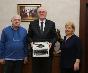 Önder Baloğlu'nun daktilosu Odunpazarı'na emanet